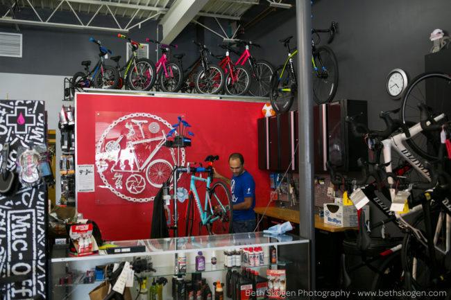 Beth Skogen - Biking